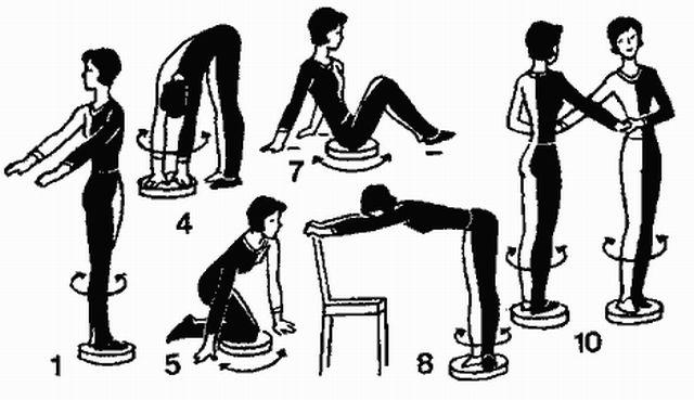 упражнения для малого таза