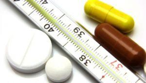 Прием лекарственных препаратов при повышении температуры