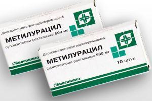 метилурацил свечи при геморрое и трещинах