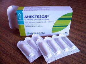 Анестезол свечи при беременности
