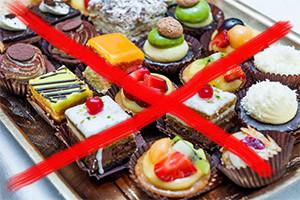 запрет на сладкое