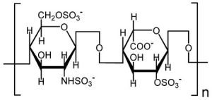Структура гепарина