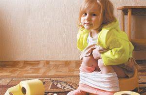 боли и запор у детей