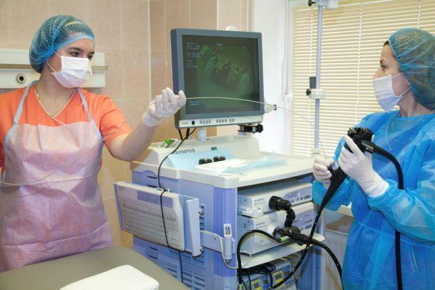 Колоноскопия на практике