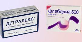 Флебодия 600 или Детралекс