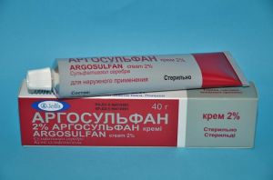 Аргосульфан крем
