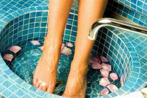 Контрастные ванночки для ног