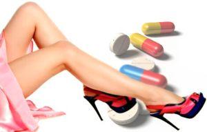 Таблетки и ноги