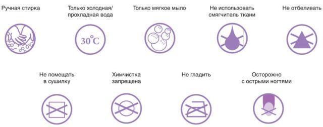 Общие правила стирки компрессионного белья