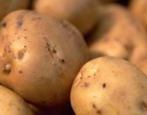 свечки из картофеля