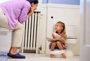 запор у ребенка