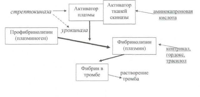 Фибронолитики