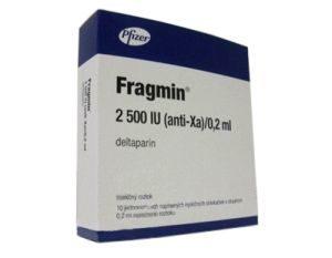 фрагмин 2500