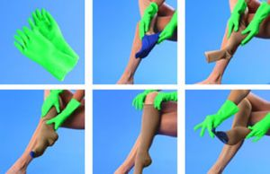Как надевать белье компрессионное