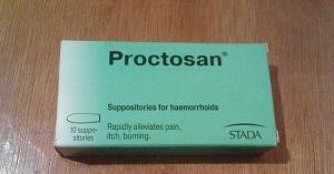 Свечи Проктозан