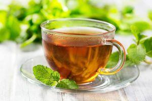 Чай на листьях орешника