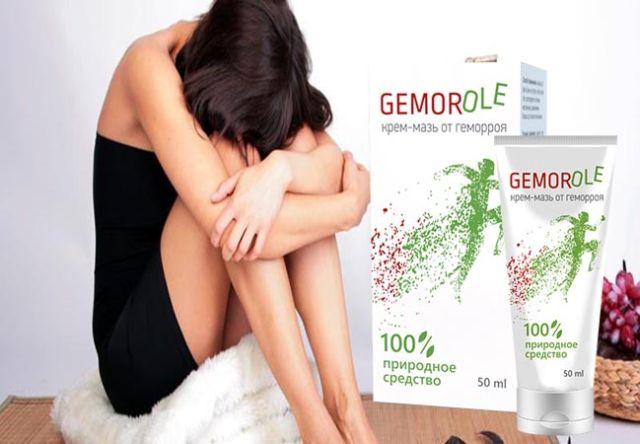 Устранение симптомов геморроя